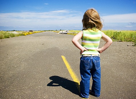 Little-Girl-on-Road